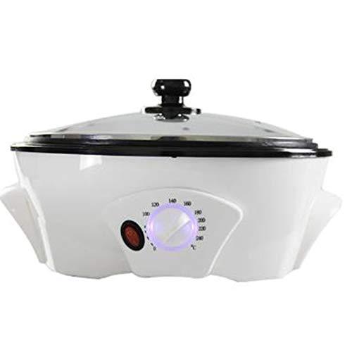 OUYA Kaffeeröster für zu Hause, 800g Kaffeebohnen Röstmaschine, Edelstahl elektrische Trommel Rotation Coffee Roaster - 32 * 12cm,220V