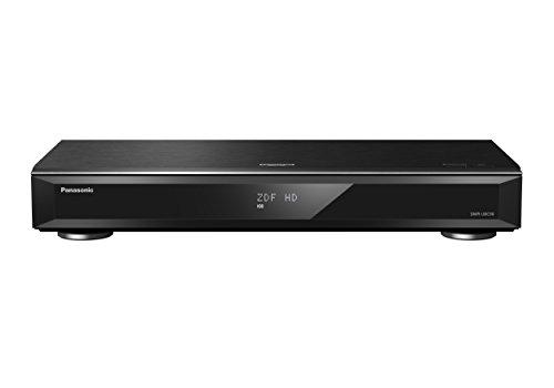 Panasonic DMR-UBC90EGK Ultra HD Blu-ray Recorder (2TB HDD, 4K Blu-ray Disc, UHD TV Kabelempfang, 3 x DVB-C/DVB-T2 HD Tuner)