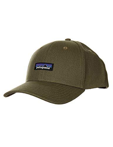Patagonia Erwachsene Mütze Tin Shed Hat Einheitsgröße P/6 Logo/Grün