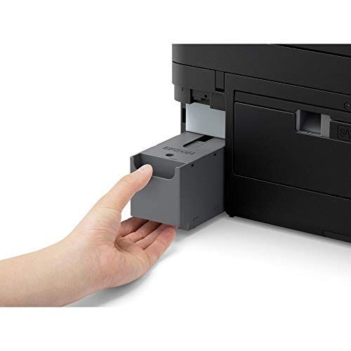 Epson WorkForce Pro | WF-3820DWF | Drucker für Chromebook | 4-in-1 Tintenstrahl-Multifunktionsgerät (Drucker, Scanner, Kopierer, Fax, ADF, WiFi, Ethernet, NFC, Duplex, Einzelpatronen, DIN A4) - 6