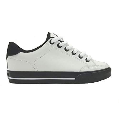 C1RCA Scarpe da Skateboard Lopez 50 White Black Black (40)