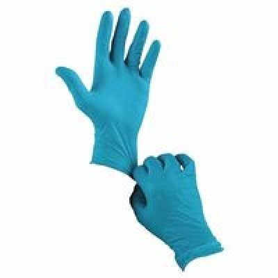Ansell 92-500-9.5-10 Touch N Tuff Nitrile Gloves, Powdered, 4 mil, Size 9.5 - 10, Green
