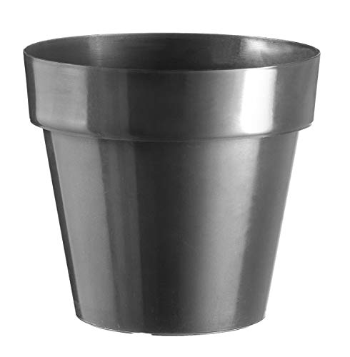 Art Plast Vase forment cm 18 x 16.3 Anthracite