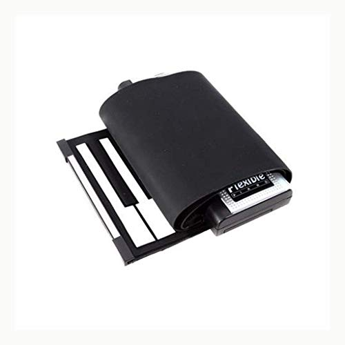 Digitale piano Opvouwbaar siliconen toetsenbord Soft Keyboard Portable Piano 61 toetsen Met External Sound Stuur Power Music (Maat: 61 toetsen) (Size : 61 keys)