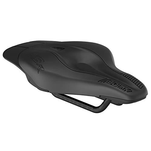 SQlab 613 Ergowave R Carbono Sillín de Bicicleta Triatlón, Adultos Unisex, Negro, 12 cm