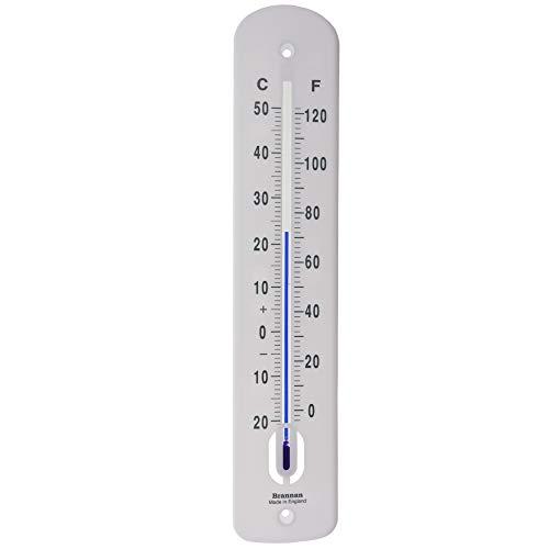 Brannan grote outdoor thermometer 380 mm - tuin thermometer buiten gemaakt in het Verenigd Koninkrijk voor gebruik in de tuin kas buiten terras zon terras