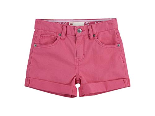 Levi's Kids Lvg Girlfriend Shorty Short Pantalones cortos Camellia Rose para Niñas