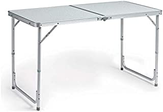 1.2M Foldable Trestle Table for a party, picnic, camping indoors or outdoors