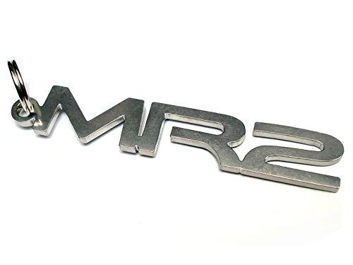 Schlüsselanhänger MR2 Emblem aus Edelstahl hochwertig