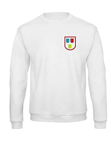 Generisch Sweatshirt mit Maler Logo Pollover Arbeitssweatshirt weiß (S)