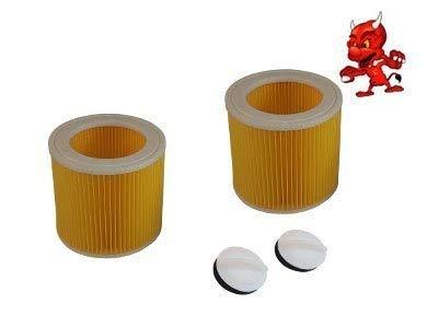 2 Cartouche de Filtre Filtre Rond Lamellenfilter pour Dewalt D27902M