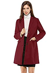 Single Breasted, Notched Lapel, Front Flap Pockets, Long Sleeves, Back Vent, Longline Coat, Fully Lined Be ultra-sophisticated and cozy in this warm coat, cut with a notched lapel and versatile pockets for a feminine chic longline silhouette. Dress u...