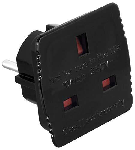 mumbi Reisestecker Adapter - STECKDOSENADAPTER von UK ENGLAND auf deutsche Steckdose 220V