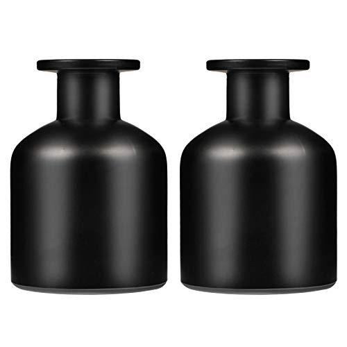 MILISTEN 2 Unidades de 150Ml de Difusor de Aromaterapia Vacío Botella de Cañas de Fragancia Botella de Difusor de Barra de Aceite Esencial Botella Perfumada Tarro de Caña Contenedor