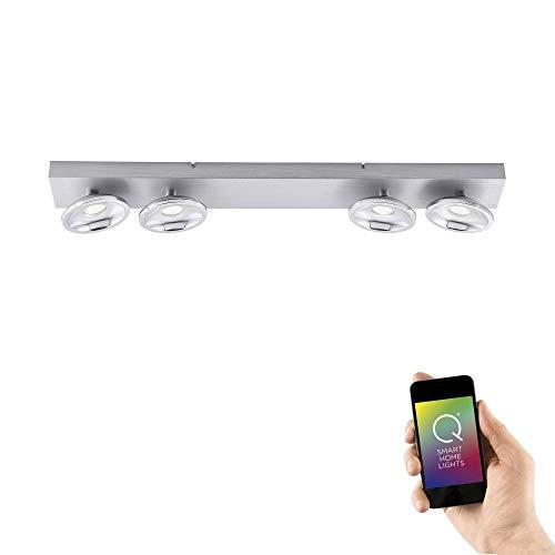 Paul Neuhaus 6467-95 Q-JULIAN LED Deckenleuchte Smart Home Alexa fähig, RGBW Farbwechsel dimmbar