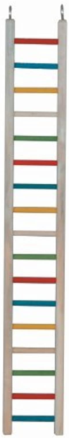 Paradise Toys 36Inch Wood Cockatiel Ladder by Paradise Toys