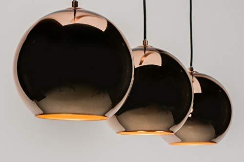Lumidora Pendelleuchte Modern Retro Glas Kupfer