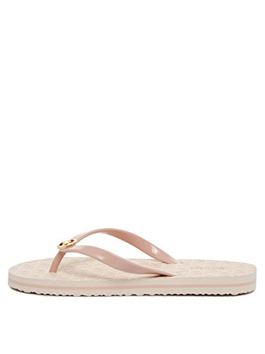 Michael Kors Mk Flip Flop Stripe Eva Damen Sandalen Pink
