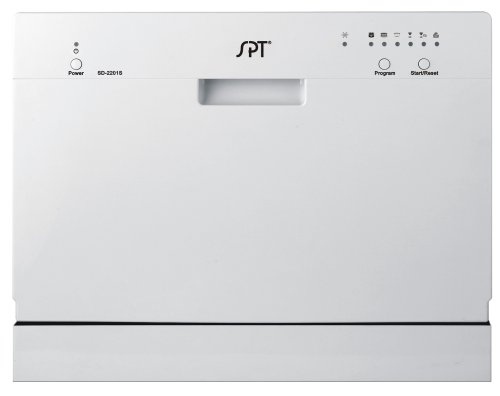 SPT Countertop Dishwasher, Silver