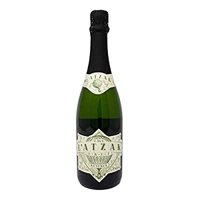 L'Atzar Brut Reserva Cava 75cl Bottle. Premium, Spanish Sparkling Dry Cava Wine With Fruity and Citrus Notes. Ideal For Special Occasions