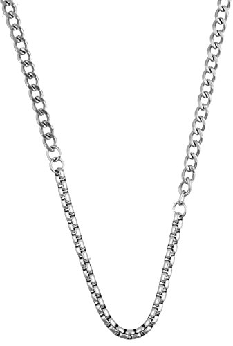 Mens Guess Stainless Steel Necklace UMN21530