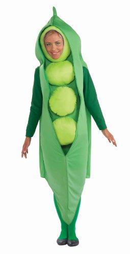 Forum Novelties Damen Peas Costume-STD Kostüme für Erwachsene, grün, Standard