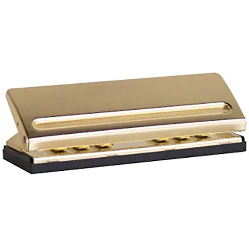 Creative Year 6 Hole Paper Punch - Gold