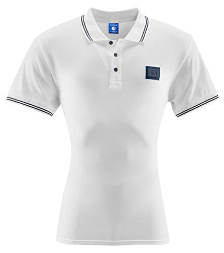 FC Schalke 04 Herren Polo Shirt 1904 weiß - Verschiedene Größen (M)