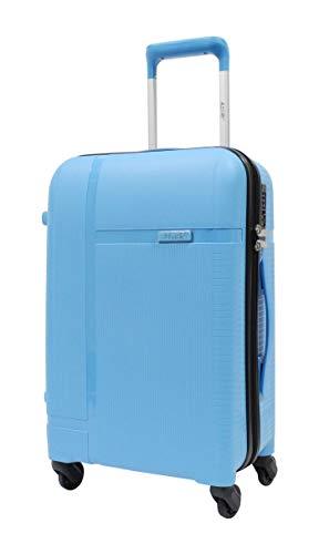 Alistair X-Smart - Maleta de cabina de 55 cm (polipropileno), marca francesa, azul celeste (Azul) - LPP05 -S- Bleu ciel