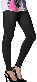 Pure Cotton Lycra Soft & Stretchable Ankle length women leggings- القطن الخالص ليكرا الناعمة والمطاط الكاحل طول النساء اللباس الداخلي