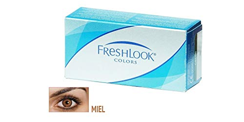 FreshLook Colors - 2x2er Box (Dioptrien: +0,50 / Farbe: Hazel / Basiskurve: 8,60 / Durchmesser: 14,50)