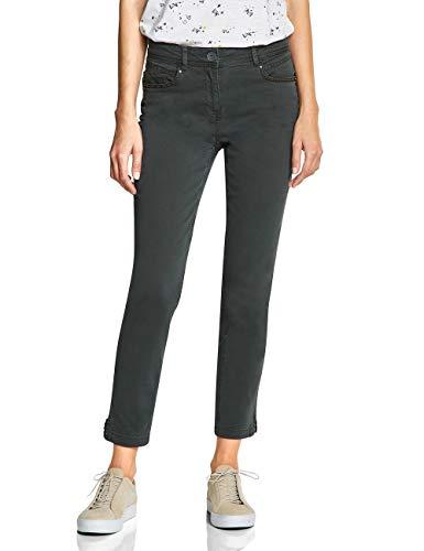 CECIL Damen 372403 Toronto Fit Slim Jeans, Grün (Slate Green 11687), W29/L28 (Herstellergröße:29)