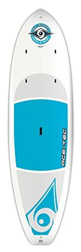 BIC Sport ACE-TEC Cross Stand-Up Paddleboard, Platinum Blue, 10-Feet