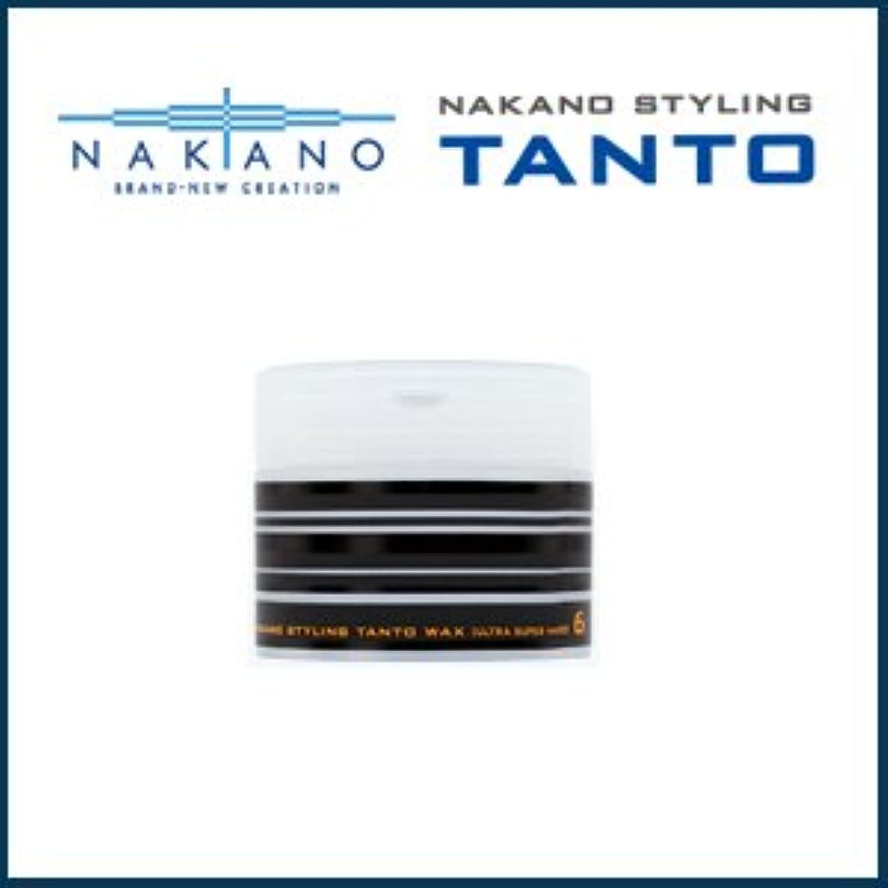暴行トマト性能【X4個セット】 ナカノ タント Nワックス 6 ウルトラスーパーハード 90g 容器入り