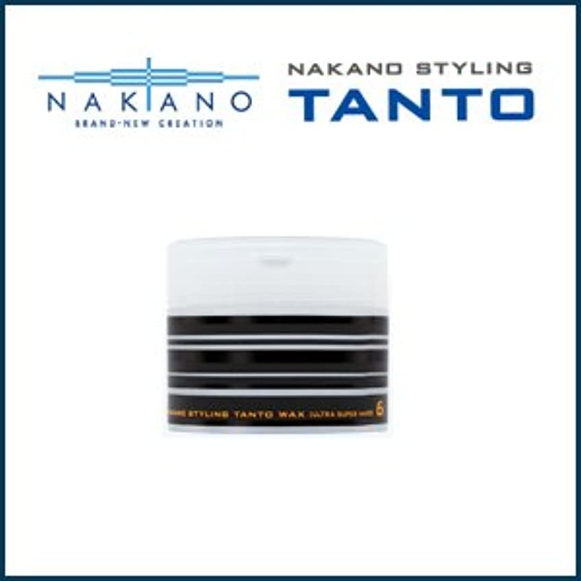 知っているに立ち寄る時小川【X4個セット】 ナカノ タント Nワックス 6 ウルトラスーパーハード 90g 容器入り