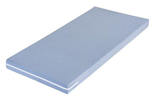 MSS Schaumstoffmatratze, Polyester, Blau, 100 x 200 cm
