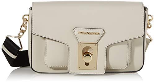 Karl Lagerfeld , Sac bandoulière pour femme beige Crème