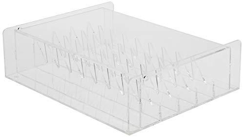 Martellato Plexiglass Passepoil Conseils Support, 310 x 100 x 390 mm, Transparent