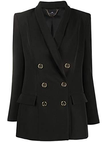 Elisabetta Franchi Luxury Fashion Donna GI94701E2110 Nero Poliestere Blazer | Primavera-Estate 20