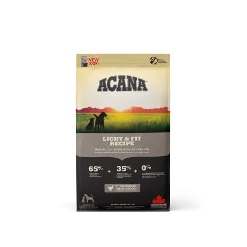 Acana Light & Fit Nourriture pour Chien, 11.4 kg