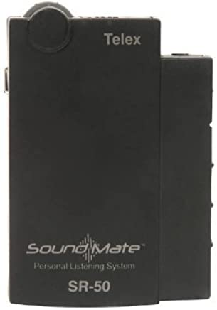 Telex SR-50 SoundMate Single Frequency Personal Reciever (Ch Q 75.4)