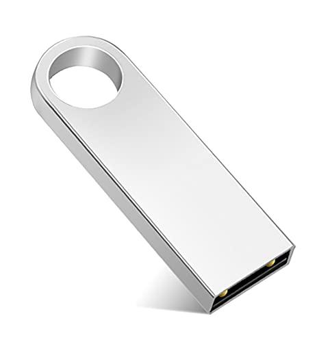 USB Stick 1TB USB-Flash-Laufwerk 1000GB USB Speicherstick 1TB Data Datenspeicher für PC, Laptop, Computer, Silber