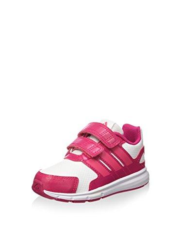 adidas LK Sport CF I, Zapatillas-ADIDAS-B23855-Infantil Infantil, Blanco/Rosa/Fucsia, 21