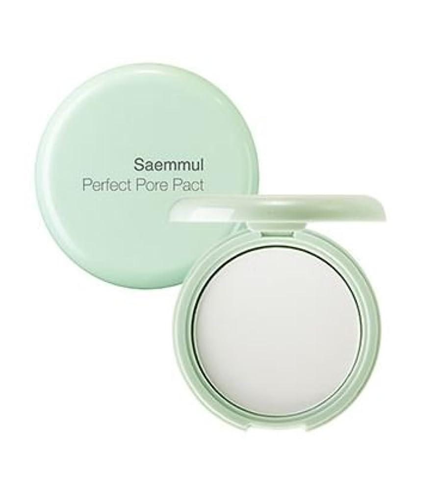 見る人誇大妄想プロフィールザセム[The Saem]センムルセンムルポアパーフェクトパクト The Saem Saemmul Perfect Pore Pact