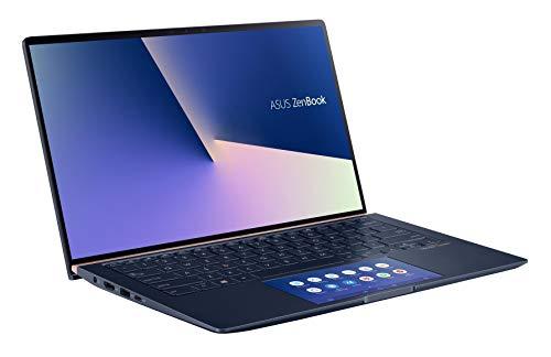 Asus ZenBook UX434FL-A6013T PC Portable 14' FHD (Intel Core i7-8565U, RAM 16Go, 512Go SSD PCIE, Nvidia MX 250 2Go, Windows 10) Clavier AZERTY Français