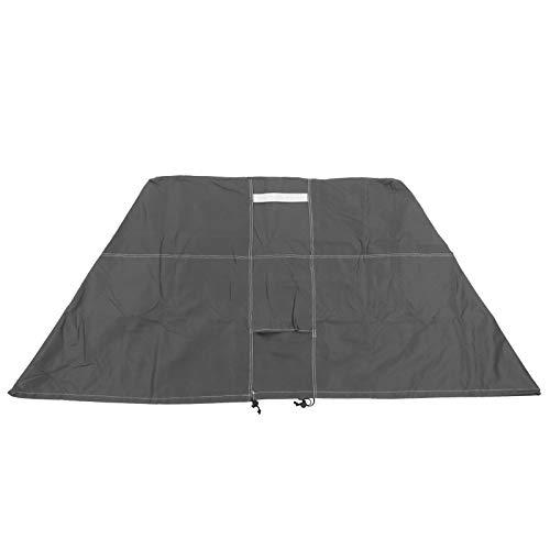Protector del aire acondicionado, cubierta de la unidad de aire acondicionado Recubrimiento anti-ultravioleta para la unidad exterior...