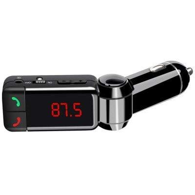 HaiMa Bc06 Voiture Bluetooth Kit Mains Libres FM Transmetteur Lecteur Mp3 USB Chargeur-Noir
