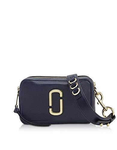Luxury Fashion | Marc Jacobs Dames M0014591410 Donkerblauw Leer Schoudertassen | Lente-zomer 20