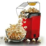 Hot Air Popcorn Popper Electric Machine Snack Maker with Removable Lid