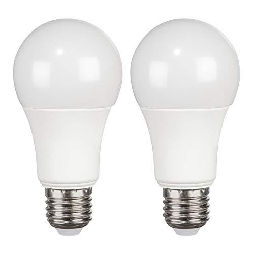 Xavax E27 LED Lampe 2er-Pack (15W ersetzt 100W, 1521 Lumen, Warmweiß (3000 K), Energieklasse A+) Doppelpack
